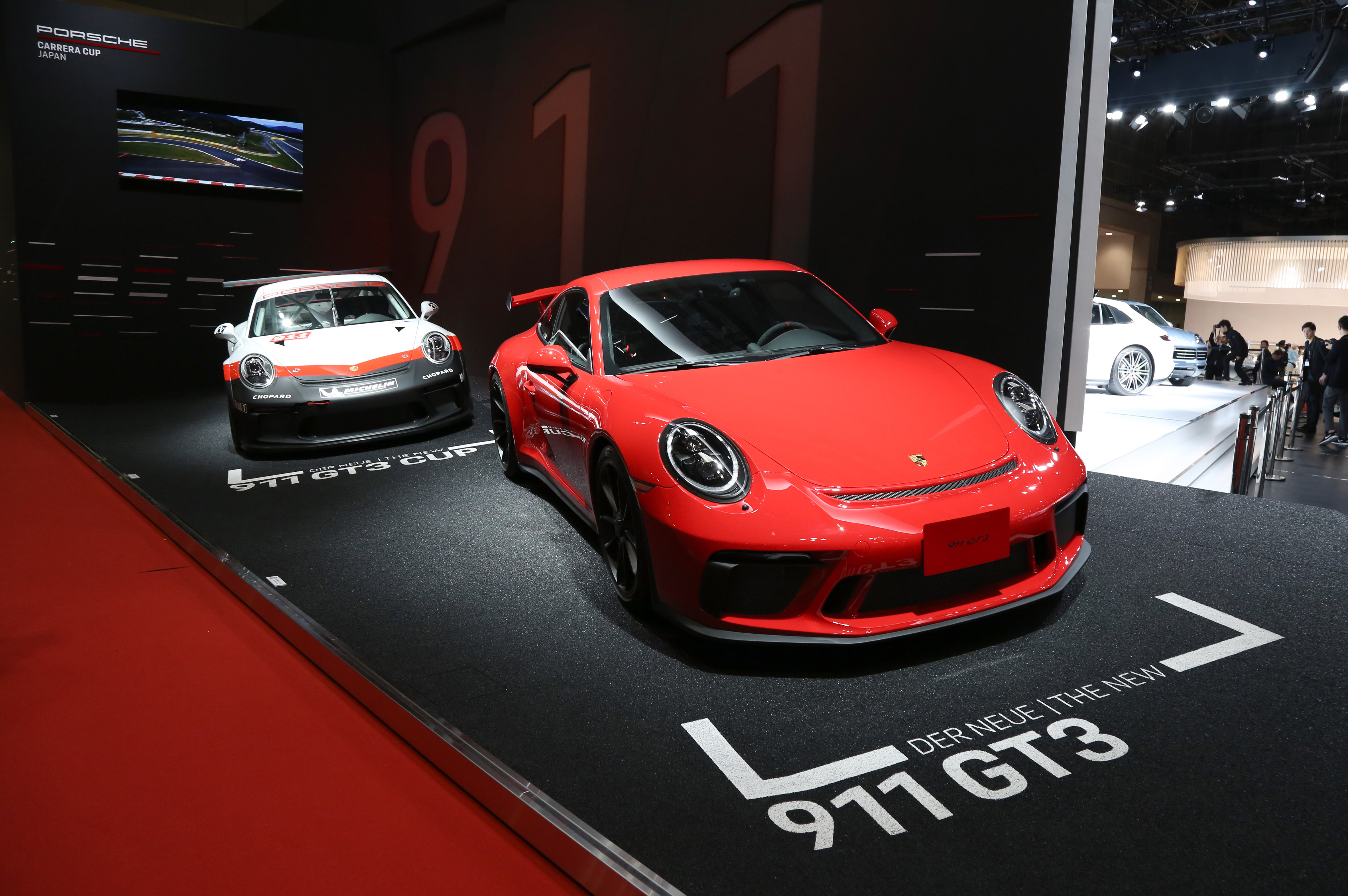 Tokyo Motor Show 2017  Featuring: Porsche 911 GT3 Where: Tokyo, Japan When: 25 Oct 2017 Credit: Yukio Tomita/Future Image/WENN.com  **Not available for publication in Germany**