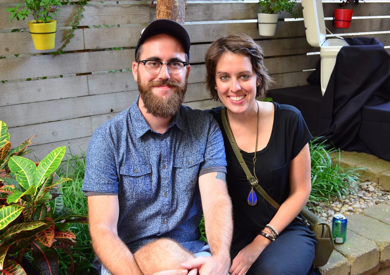 Phil Armstrong and Ashley Reeves / Image: Leah Zipperstein, Cincinnati Refined // Published: 8.13.17