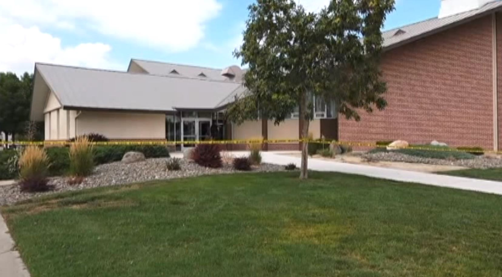 A shooting at The Church of Jesus Christ of Latter-day Saints in Fallon, Nevada, occurred Sunday afternoon. (Photo: CNN Newsource / screen grab)<p></p>