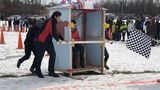 Game of the porcelain thrones: Fun at the 5th annual Saginaw Outhouse Races