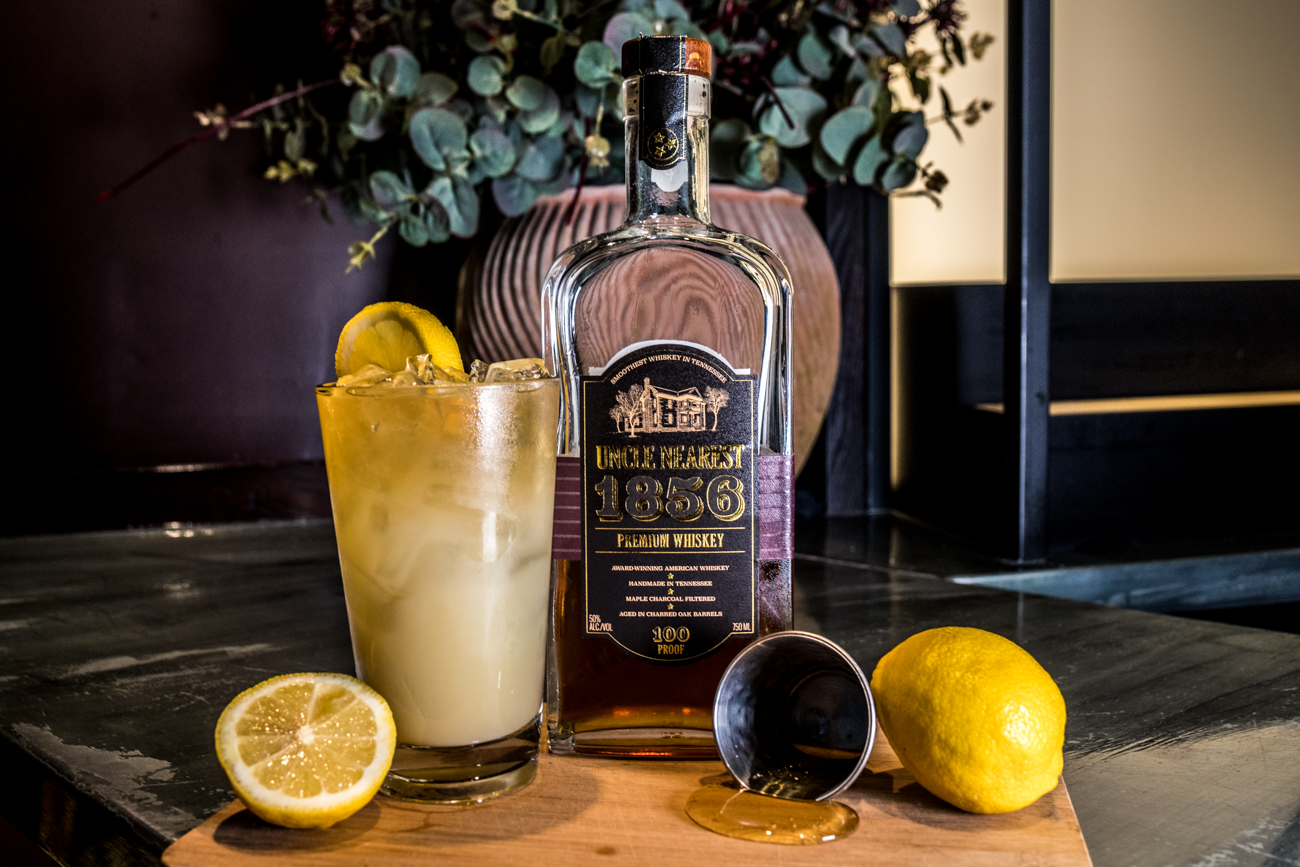 PLACE: The Mercer OTR / ADDRESS: 1324 Vine Street (Over-the-Rhine) / Hey Hot Stuff: Uncle Nearest whiskey, house-made lemonade, and honey-habanero syrup / Carryout available through pop-ups: facebook.com/TheMercerOTR / Image: Catherine Viox // Published: 4.28.20