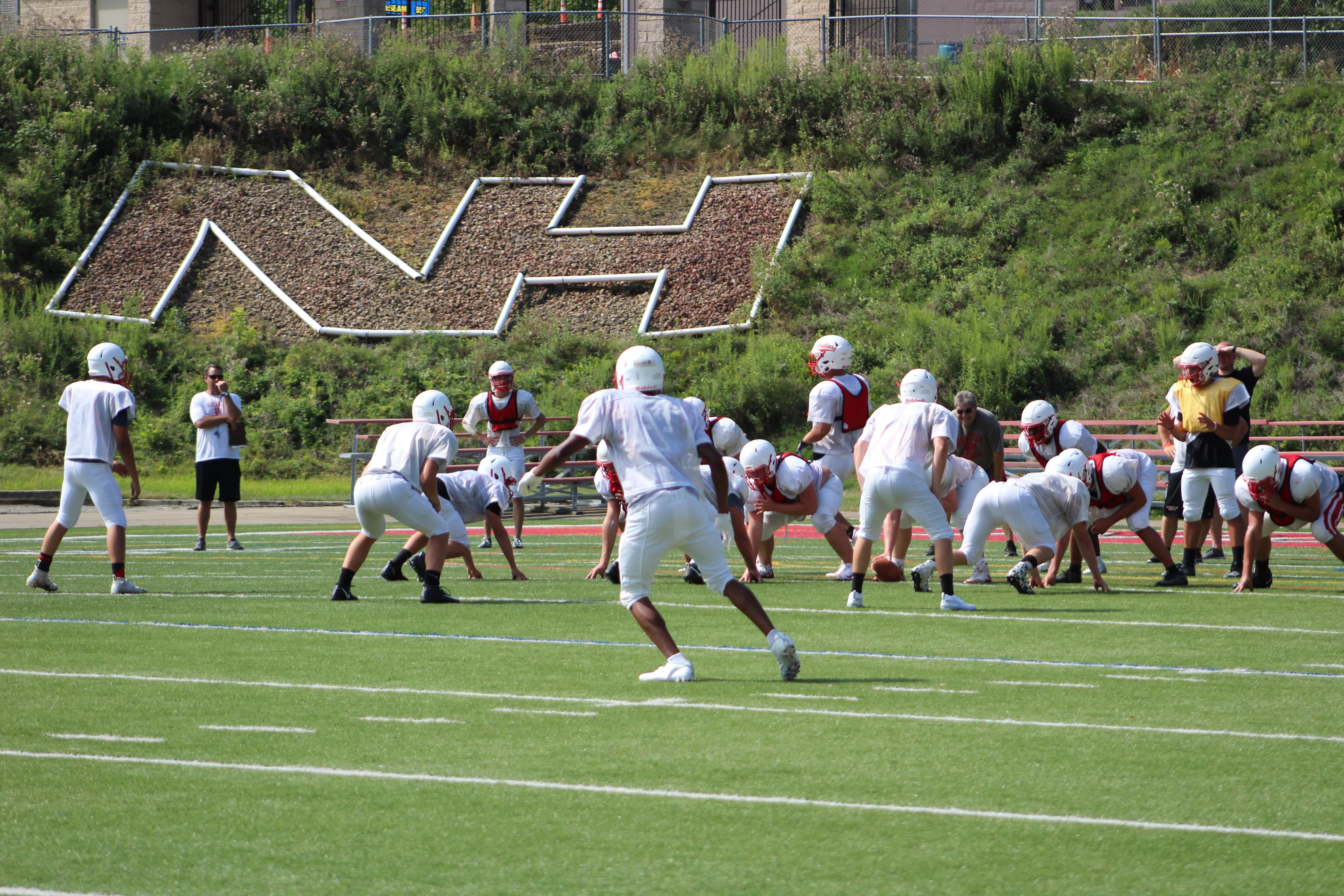 "A late-morning practice at North Hills' Martorelli Stadium.{ }Watch the AHN Friday Night Rivals powered by IGS Energy ""Kickoff Special"" Aug. 23 at 7 p.m. on 22 the Point."