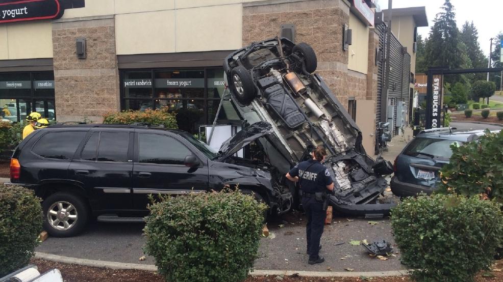 Car Wash Drive Through Crash
