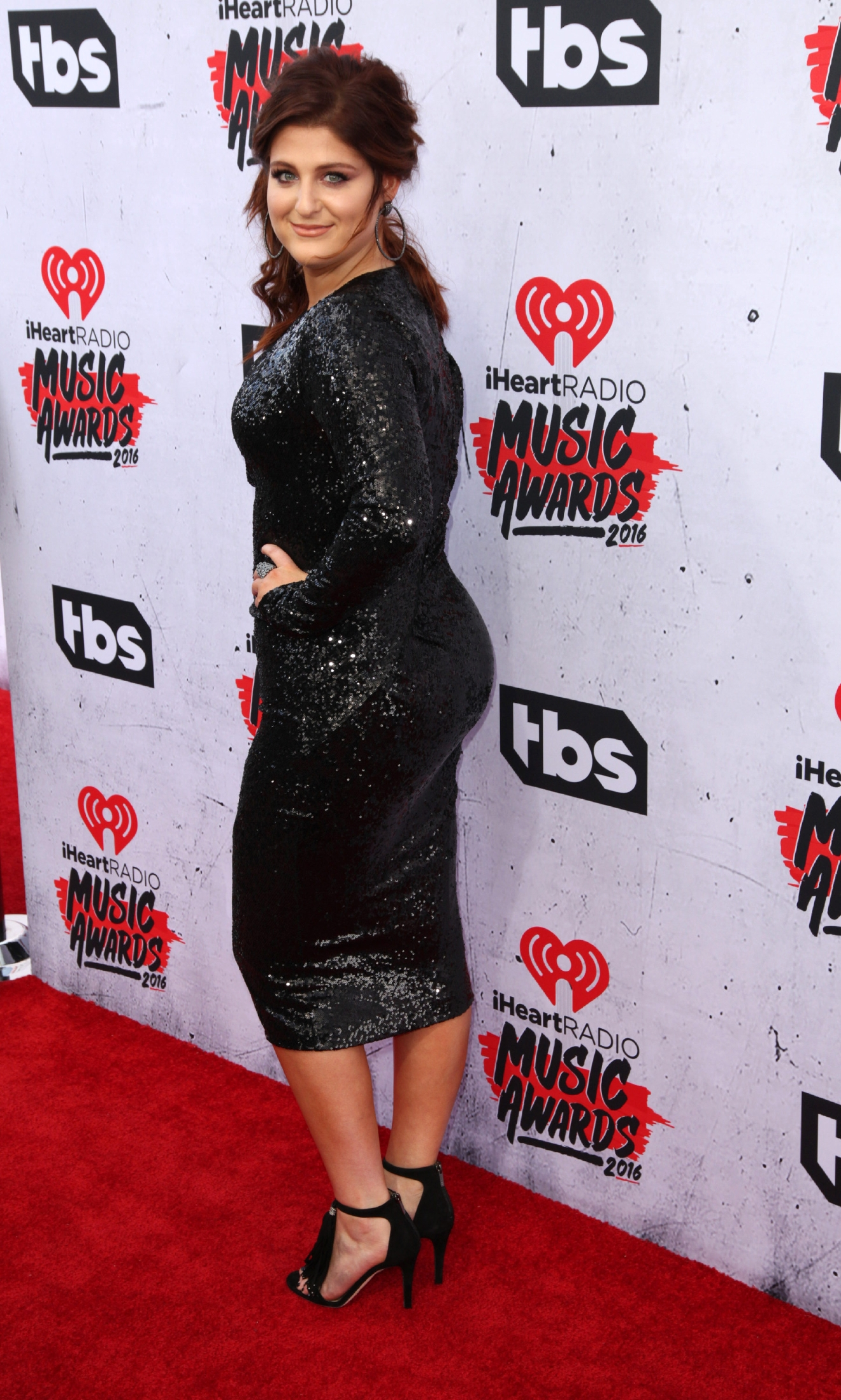 Celebrities attend iHeartRadio Music Awards at The Forum.                                    Featuring: Meghan Trainor                  Where: Los Angeles, California, United States                  When: 03 Apr 2016                  Credit: Brian To/WENN.com