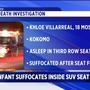 1-year-old Indiana girl suffocates under folded SUV seat