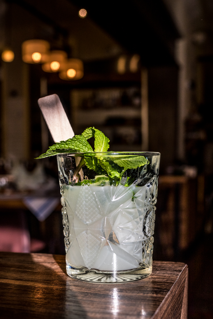 Findlay Market: gin, St-Germain, cucumber, mint, and lime juice / Image: Catherine Viox{ }// Published: 1.23.20