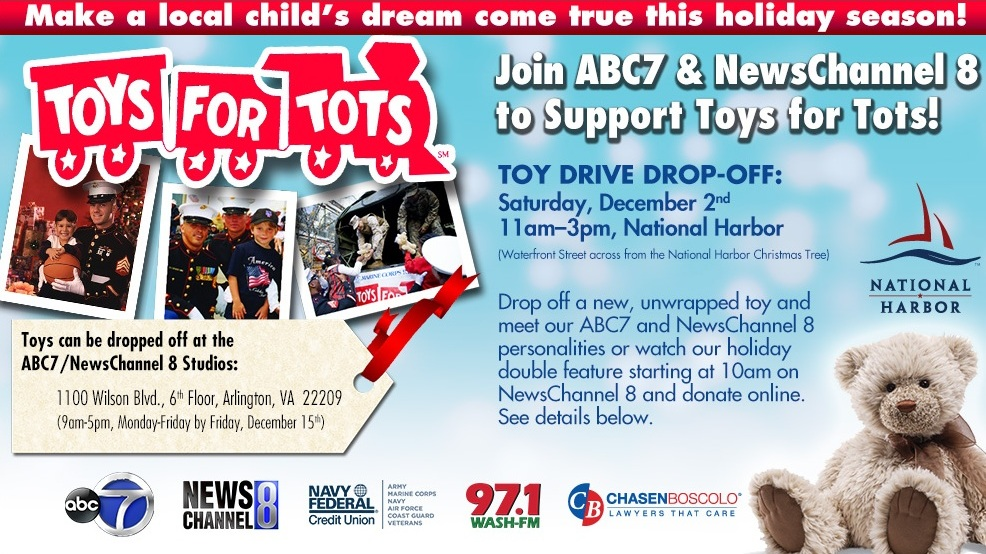 2017 Toys For Tots Ellensburg Washington : Toys for tots wjla