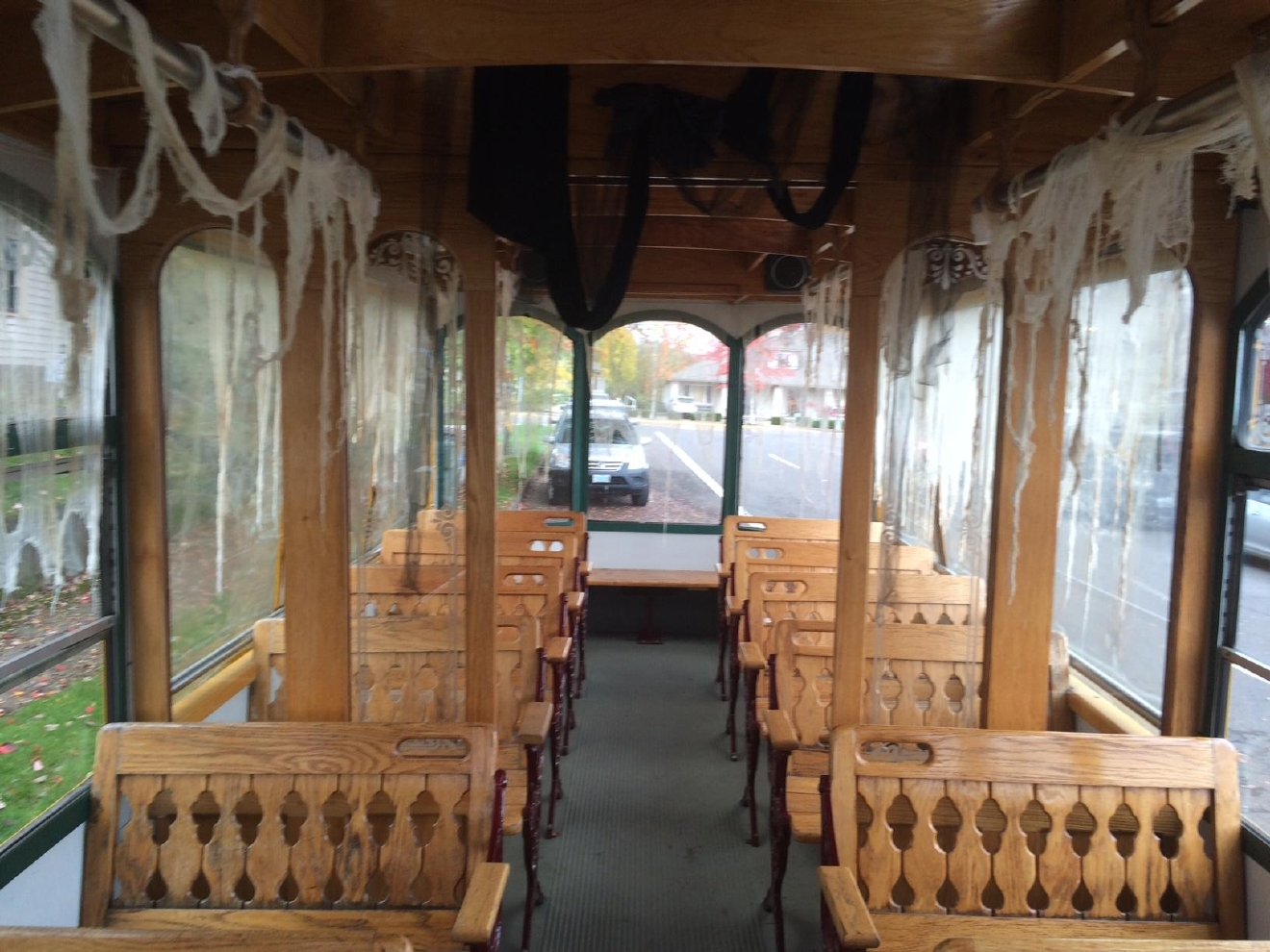 The Trolley of Terror will take you throughout Historic Downtown and fills you in on the spooky past of the buildings and houses you'll pass along the way. (SBG)