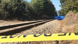 Authorities on scene after a body was found on railroad tracks in Black Mountain