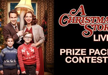 """A Christmas Story Live"" Prize Pack Contest"
