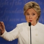 Clinton asks undecided voters to think seriously