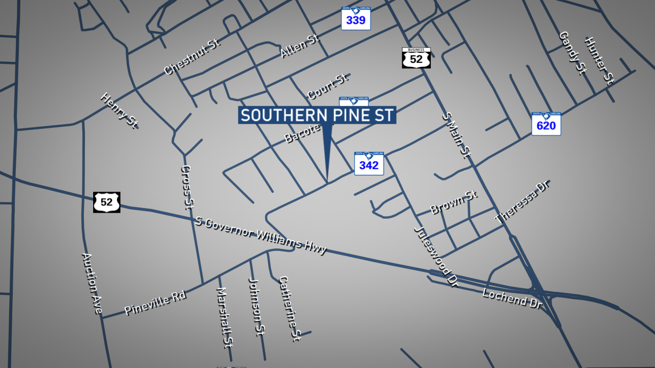 Aaron Hall and Shenkia Johnson have been charged in connection with a double murder that happened three weeks ago at the intersection of Southern Pine Street and Kirven Street in Darlington, according to Darlington Police Chief Daniel Watson. (WPDE graphic)