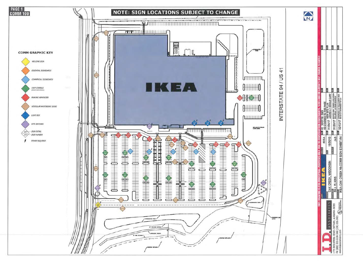 Plans to start construction on a new Ikea in Oak Creek this Spring   March. Ikea Set to Open in Oak Creek   WLUK