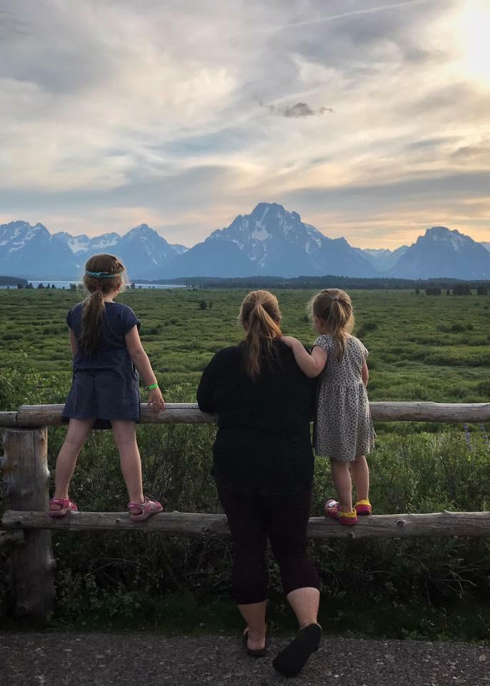 Take in the sunsets at Jackson Lake Lodge but bring some bug spray to ward off the insects. (Image: Scott Mongrain)