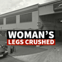 Woman's legs crushed when she decides to crawl under Greyhound Bus