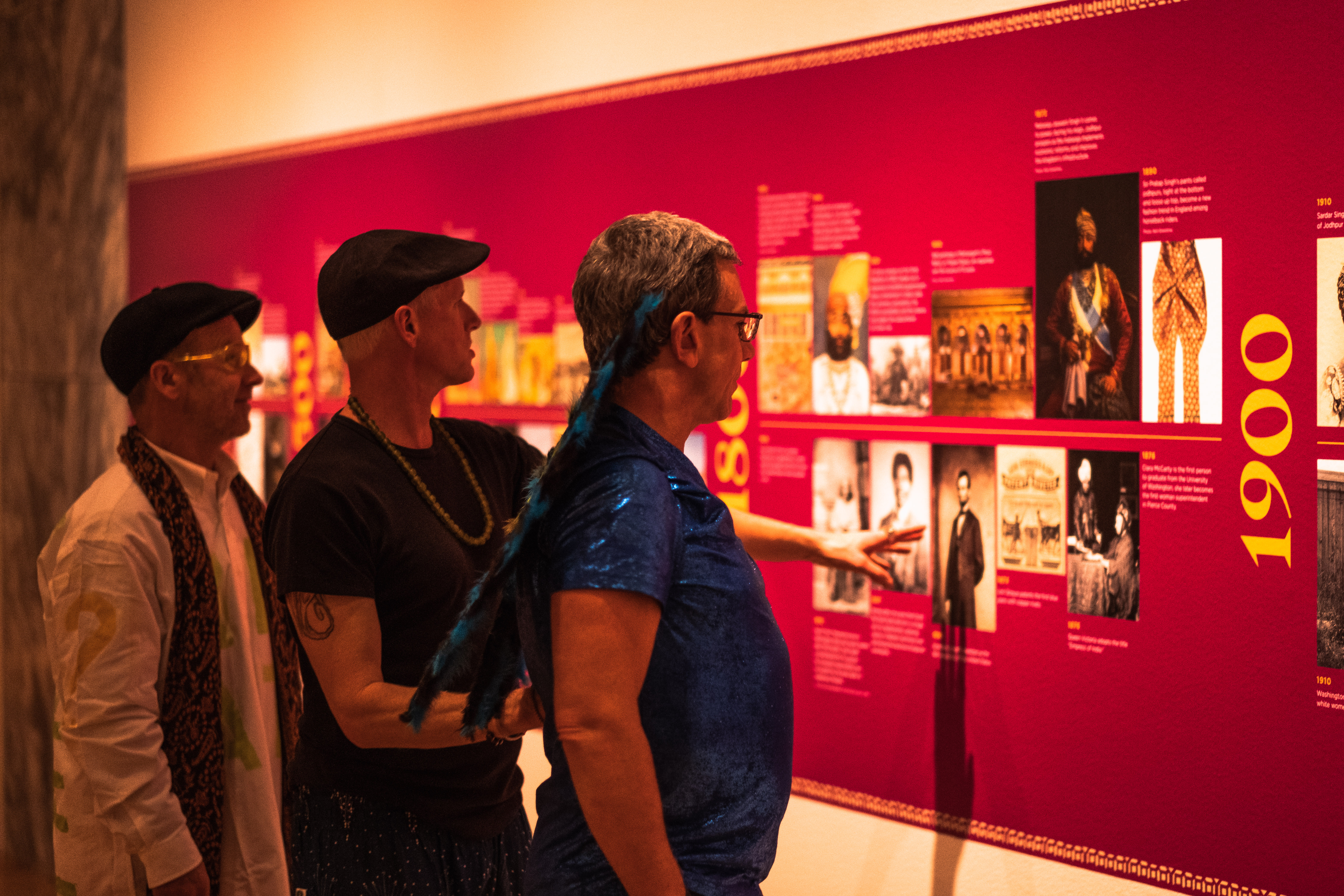 Vibrant lights, live music, and tours of the museum treated guests to a night at SAM that they won't soon forget. With a featured exhibit titled Peacock in the Desert, patrons were guided through five centuries of historical artistic creations from the kingdom of Marwar-Jodphur in India that included paintings, fine jewelry, decorated arms and armor, and intricate furnishings. Along with dance performances, great food and drink, and interactive art - Remix delivered one heck of a night out. (Image: Ryan McBoyle / Seattle Refined)