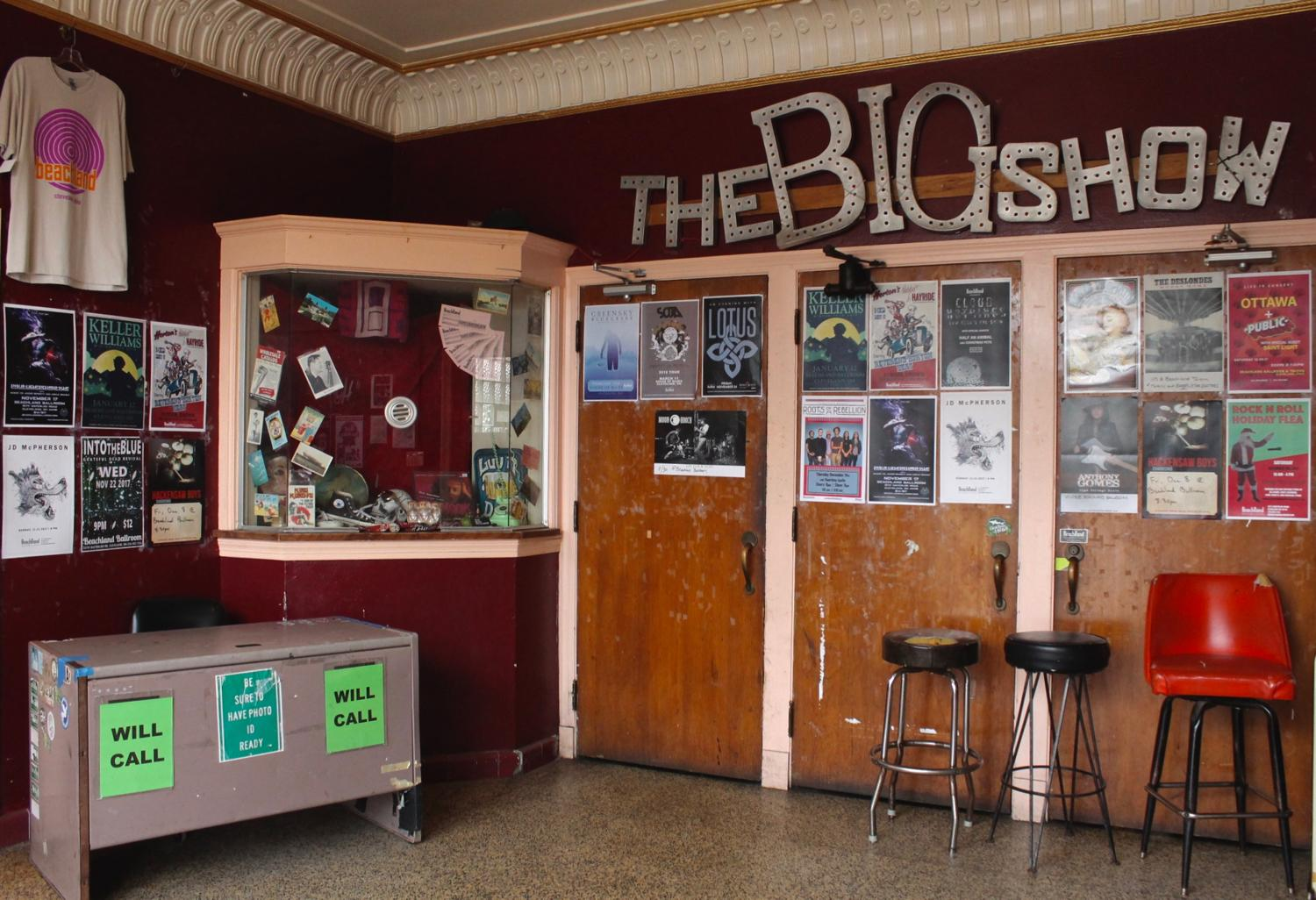"The Beachland Ballroom and Tavern has it all: a music venue, record store, vintage and curiosities shop, and of course, a tavern. If you pop in on a Sunday, you'll even find a DJ there spinning their favorite vinyl for their ""Rockin' Brunch."" They are located in Cleveland's Waterloo Arts and Entertainment District in the North Shore Collinwood neighborhood of Cleveland. ADDRESS: 15711 Waterloo Rd., Cleveland, OH 44110 / Image: Rose Brewington // Published: 11.22.17"