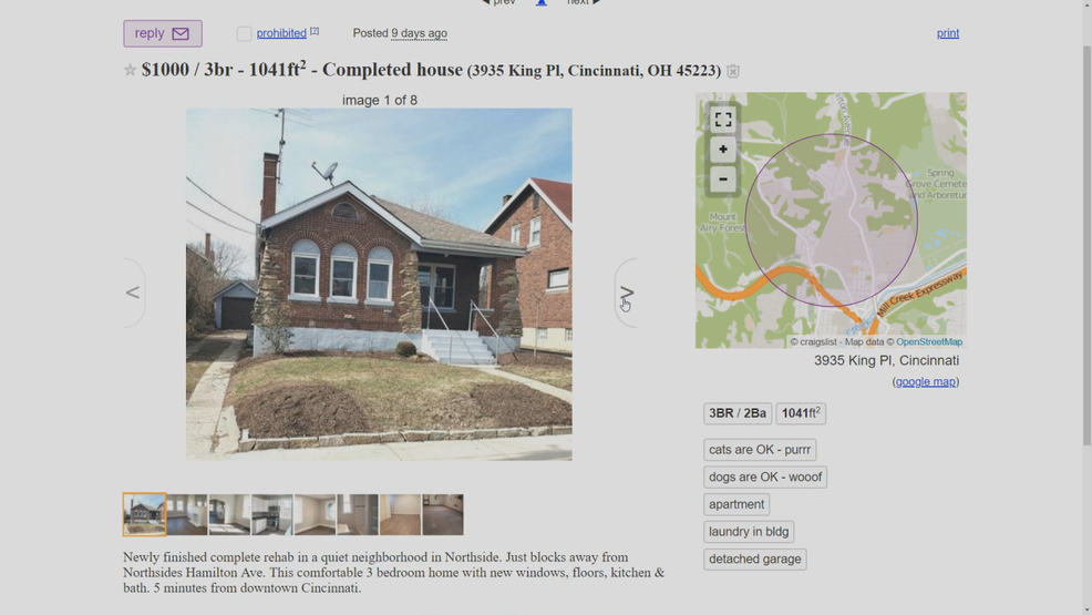 House For Rent Craigslist Ohio House For Rent Search sales in dayton, oh. house for rent blogger