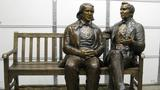A statue of Joseph Smith and Brigham Young stolen in SLC, worth $125k