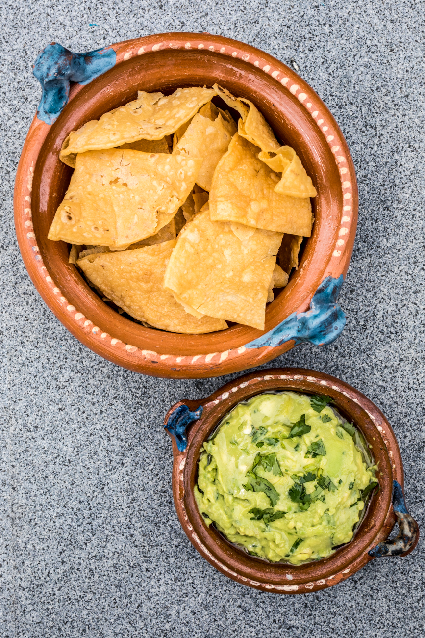 House guacamole with tortilla chips / Image: Catherine Viox // Published: 5.22.20