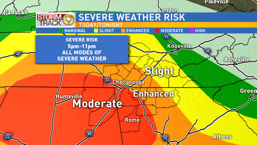 PM Update Severe storms move through the viewing area Monday night