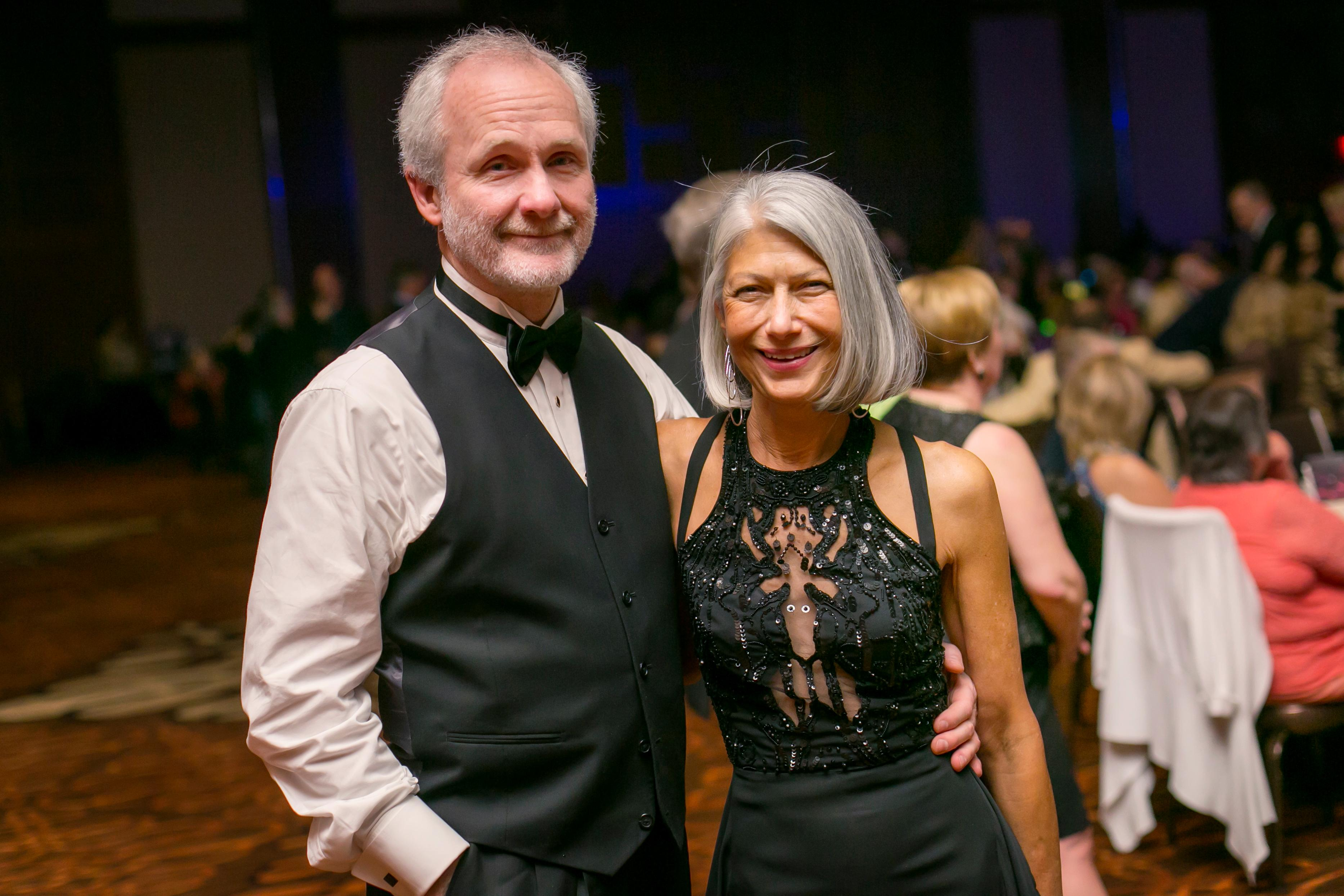Jim Dennis and Nancy Crace / Image: Mike Bresnen Photography