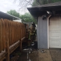 Lightning starts Ottumwa garage fire