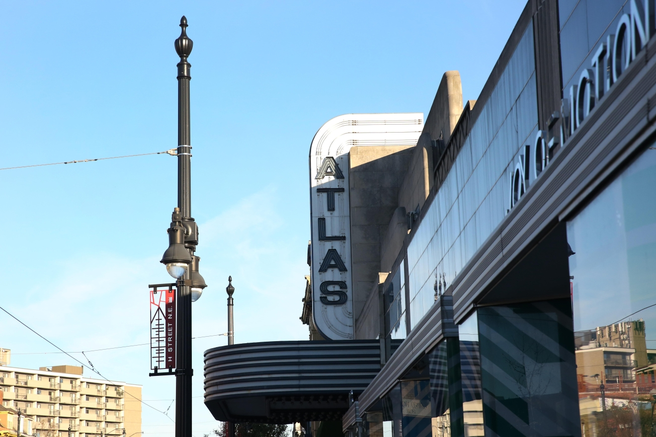 H Street is sometimes called the Atlas District because of (Amanda Andrade-Rhoades)