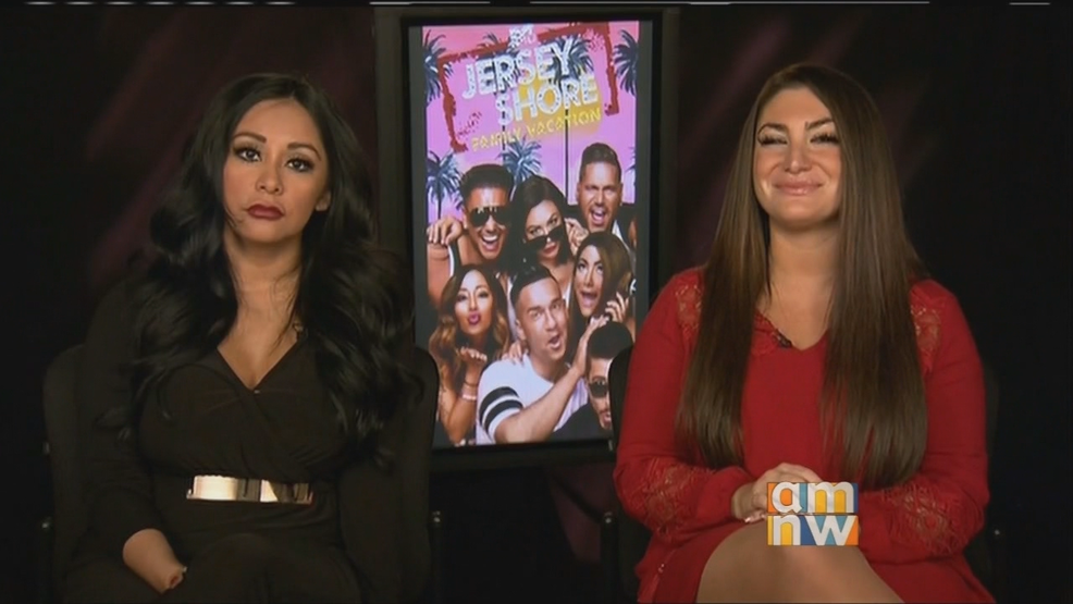 "Snooki & Deena for ""Jersey Shore Family Vacation"""
