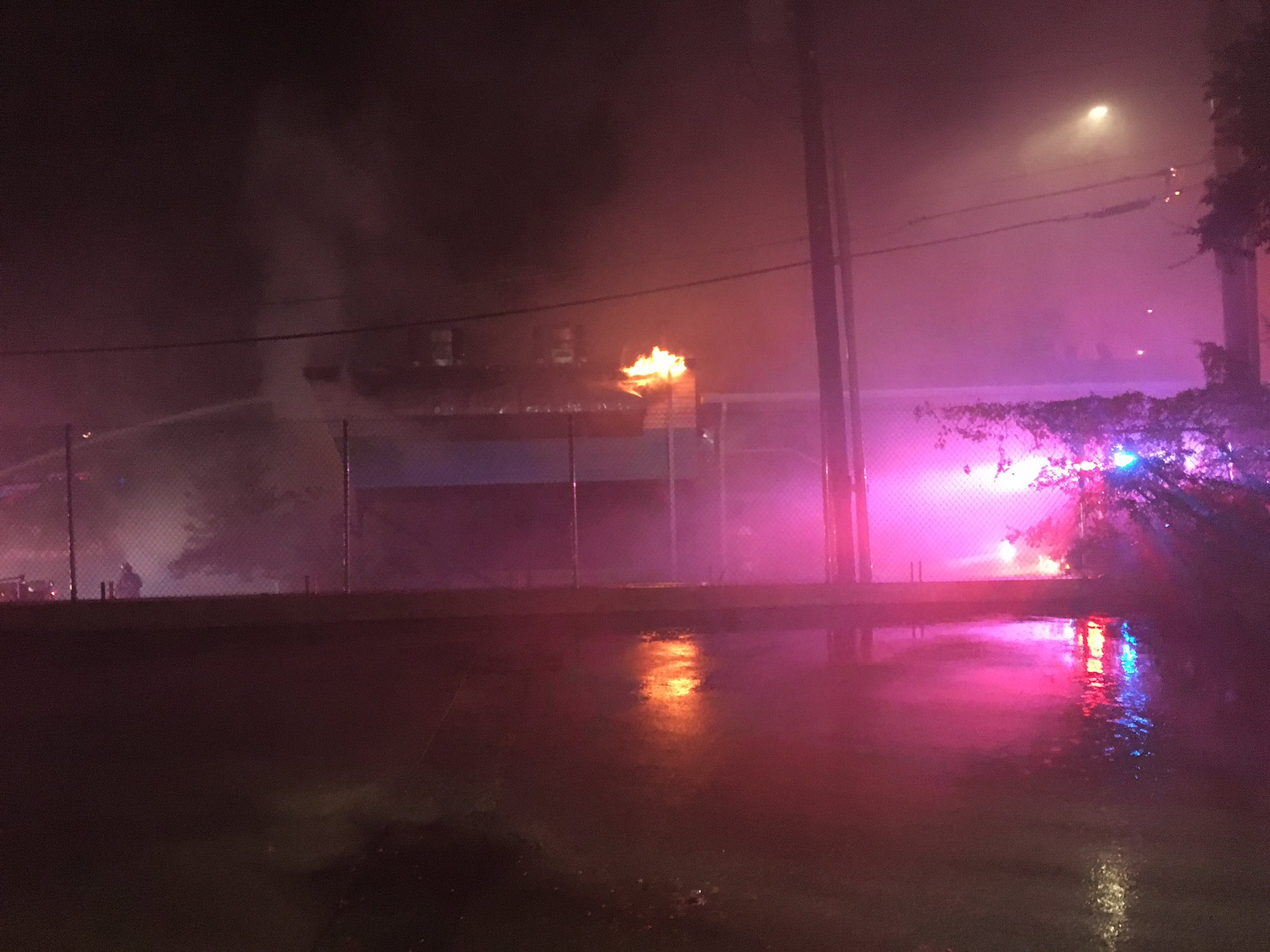 The Austin Fire Department says a fire at Franklin Barbecue is now under control (Photos: CBS Austin)