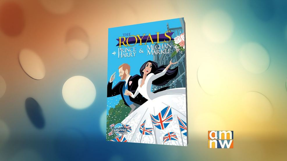 Royal Romance Gets Comic Book Treatment
