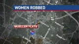 Police increase patrols after women robbed at gunpoint
