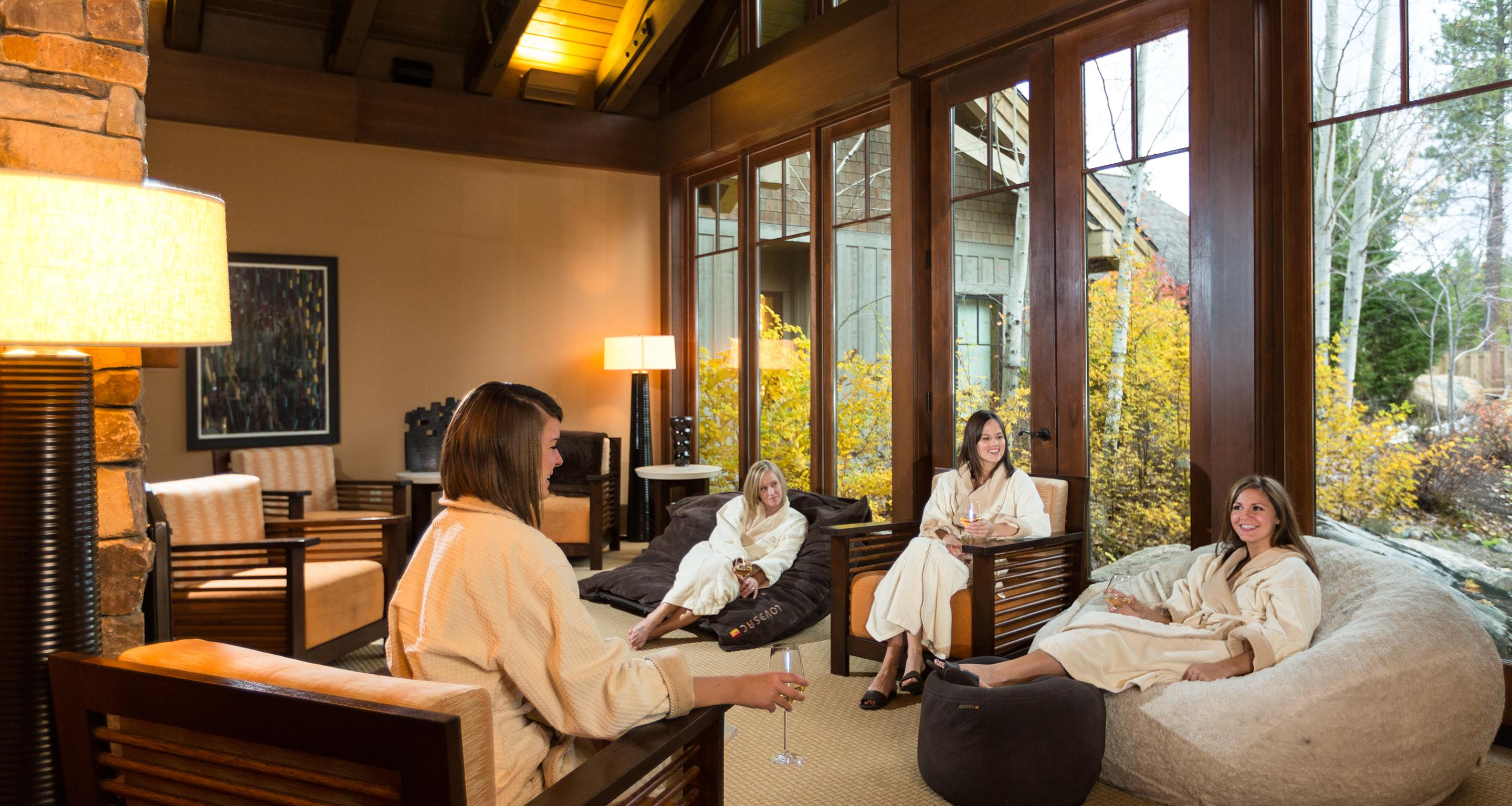 Relaxation for a day with your girlfriends at Glade Spring Spa is very rejuvenating, especially with the services on the new spa menu.