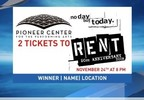 News 4 Facts:  Rent at the Pioneer Center Nov 13-17, 2017