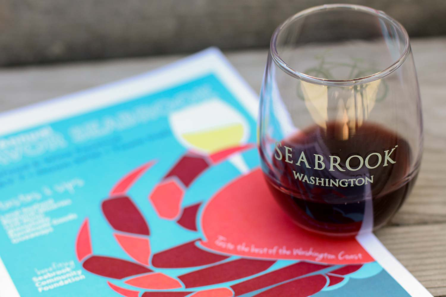 $20 admission to Savor Seabrook includes 10 tasting tickets and keepsake wine glass.