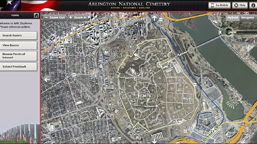Arlington Cemetery debuts new interactive map | KOMO