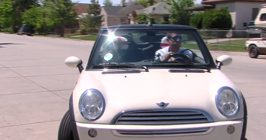 Missing a class-action window proves costly for Mini Cooper driver (Photo: KUTV)