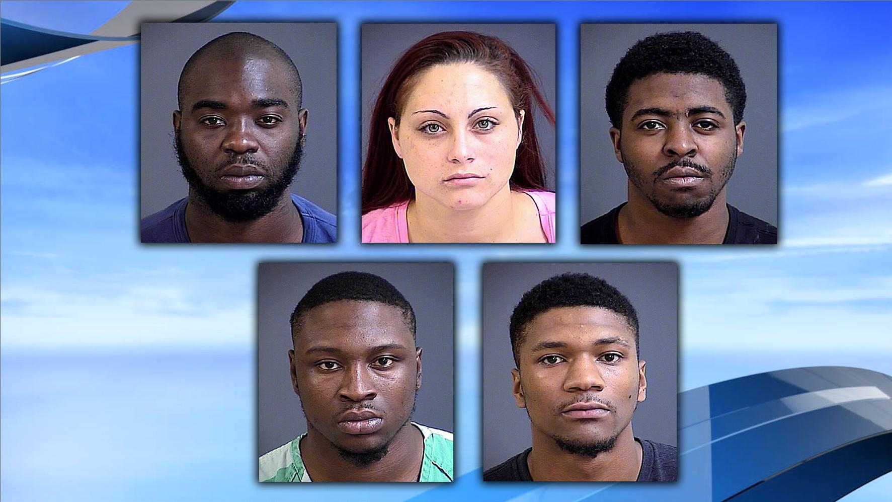 Mount Pleasant Armed Robbery Suspects (Al Cannon Detention Center)<p></p>