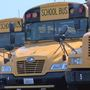 Officials encourage drivers to be cautious of school buses on the first day of school
