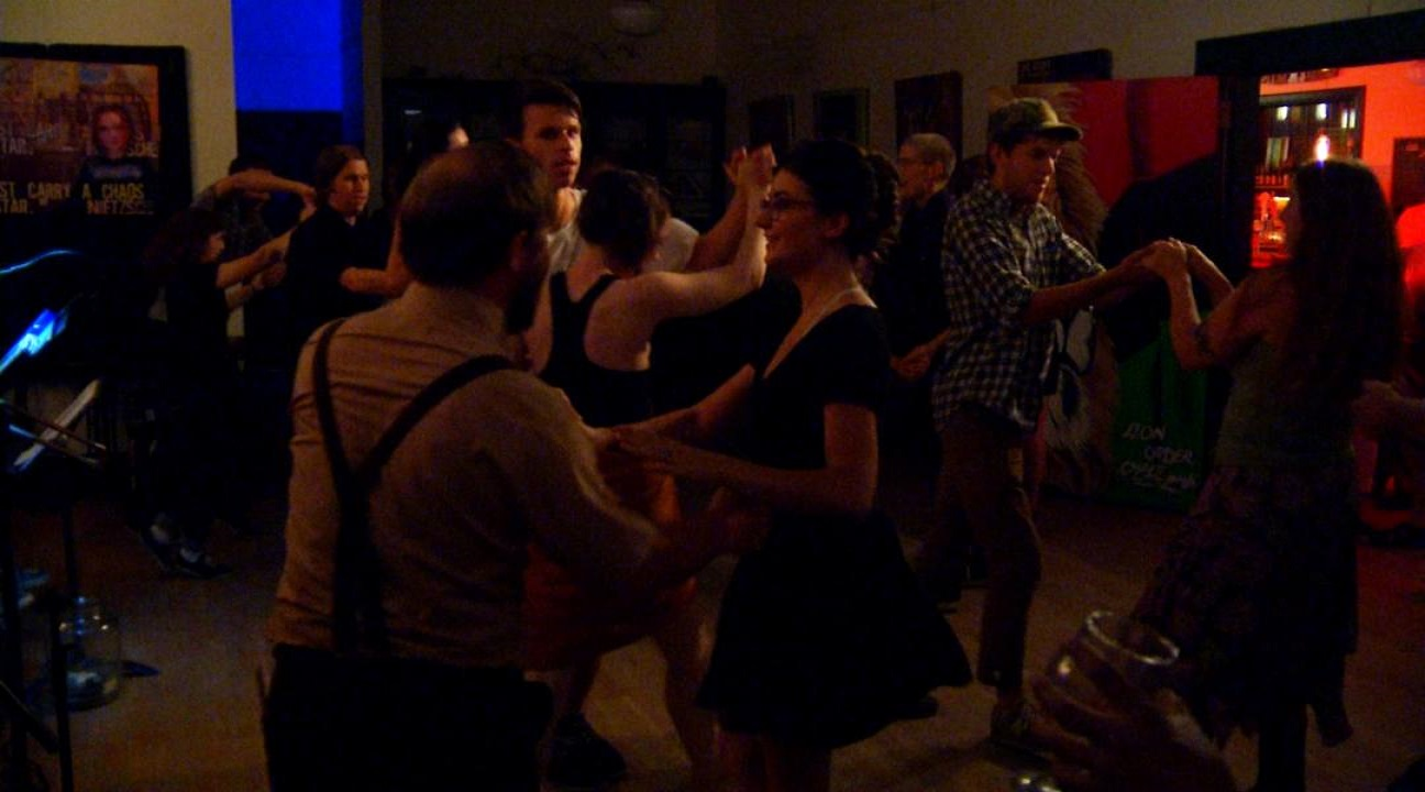 Swing Asheville holds a dance every week on Tuesday night at THE BLOCK off Biltmore, at 39 S Market Street. (Photo credit: WLOS Staff)