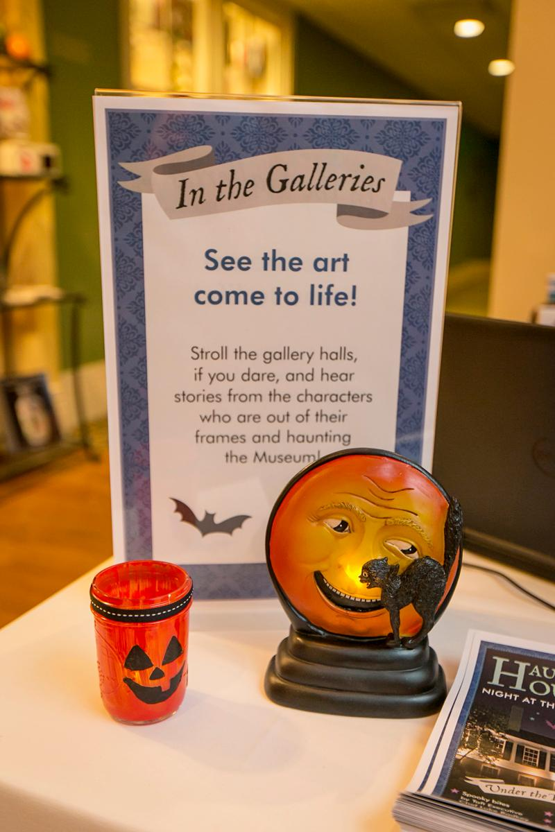 Haunted House: The Taft at Night was held on Thursday, October 26 at the Taft Museum of Art. Attendees saw paintings come alive, created their own masks, and enjoyed Halloween-themed festivities. / Image: Mike Bresnen Photography // Published: 10.27.17