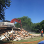 Demolition begins for more than 2 dozen homes in one neighborhood