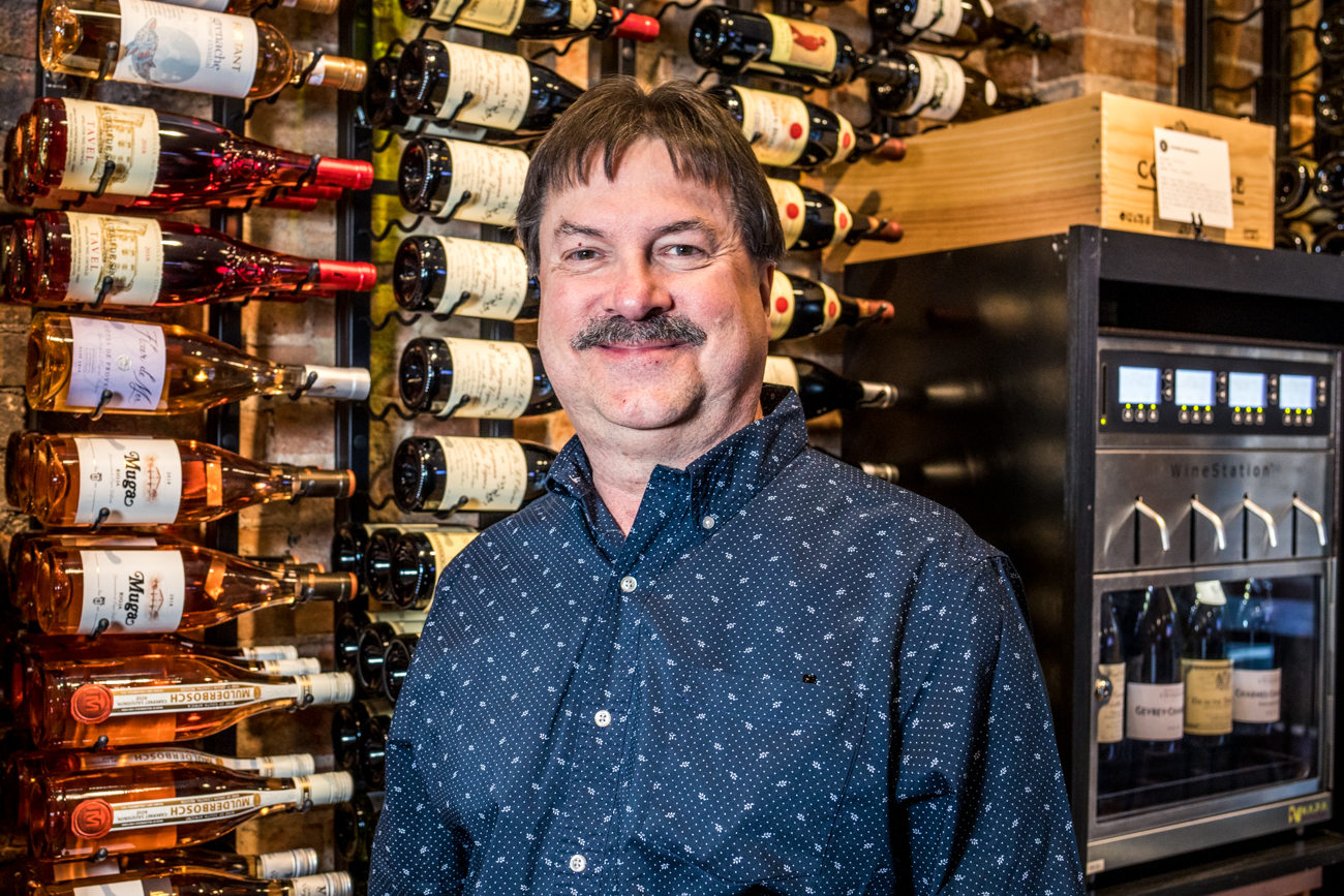 David Schmerr, General Manager and wine buyer  / Image: Catherine Viox // Published: 2.20.20