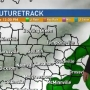 Cold front, showers coming to Middle Tennessee