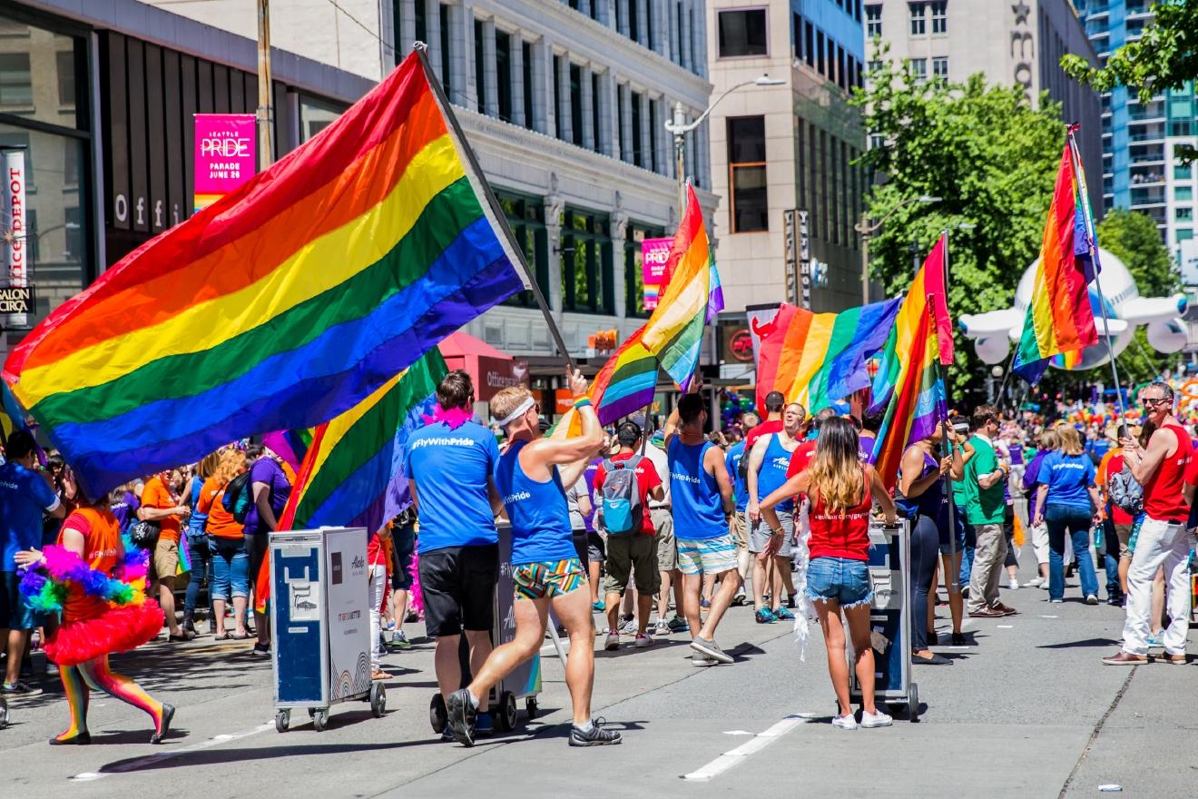 from Dangelo gay pride in seattle