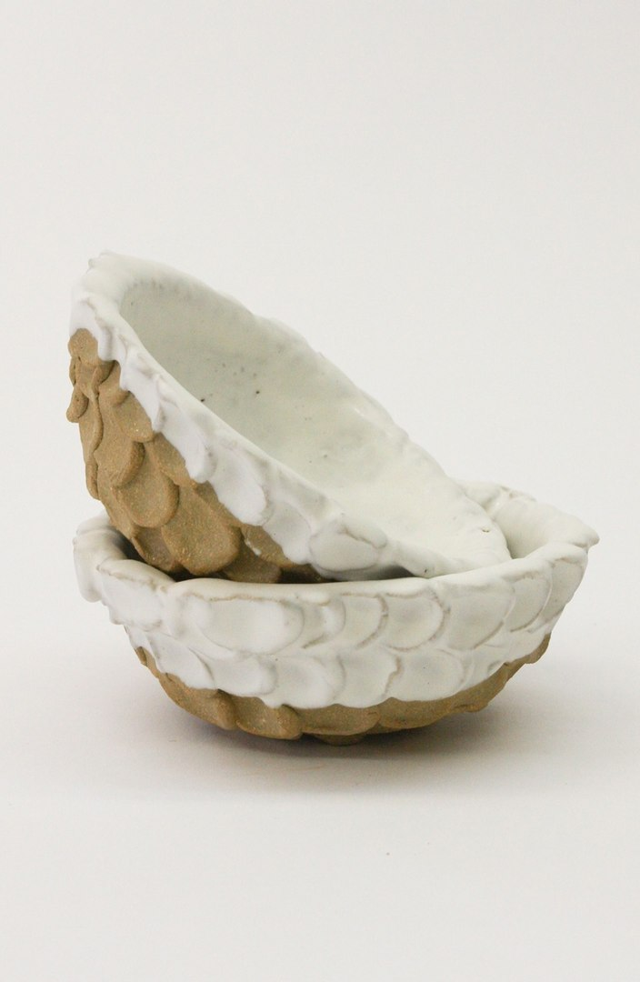 Bzippy & Co Set of 2 Dot Ceramic Bowls - $210. Get it at nordstrom.com/space. (Image: Nordstrom)