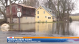 Water levels rising on east side of Kalamazoo, downstream of Morrow Dam
