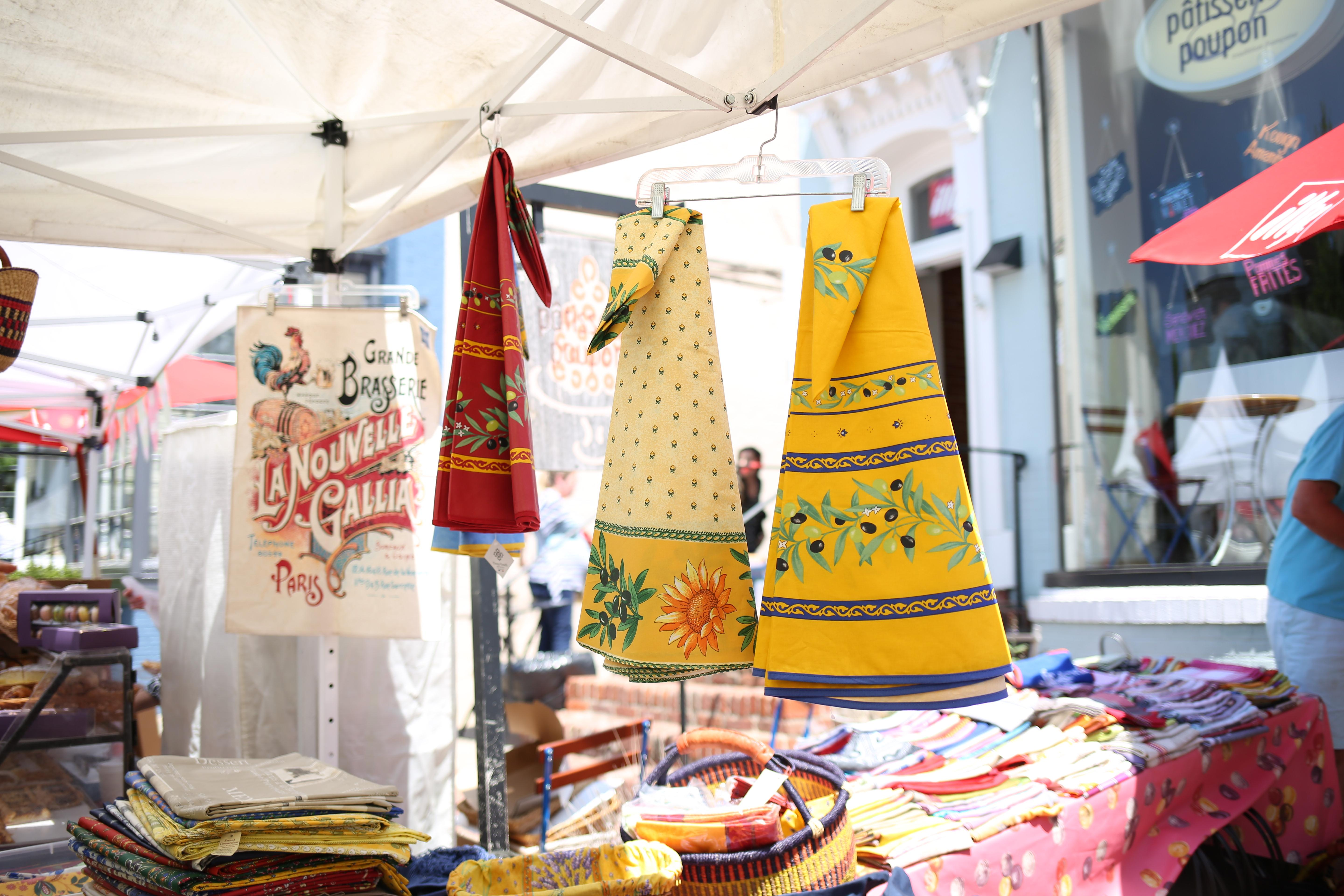 Dust off your berets and practice your double cheek kiss for the 15th annual Georgetown French Market. (Image: Amanda Andrade-Rhoades/ DC Refined)