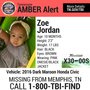 AMBER Alert issued for missing baby, she was a passenger in a stolen vehicle from Memphis