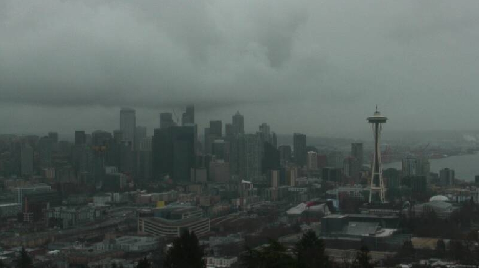 This soggy weather keeps up, Seattle could pass the 'other' Washington in average rainfall